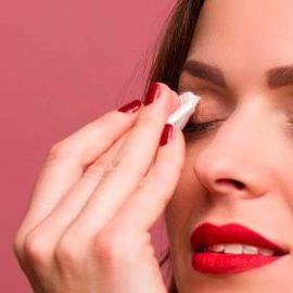 Silmien puhdistus