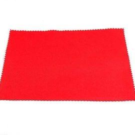 punainen mikrokuituliina